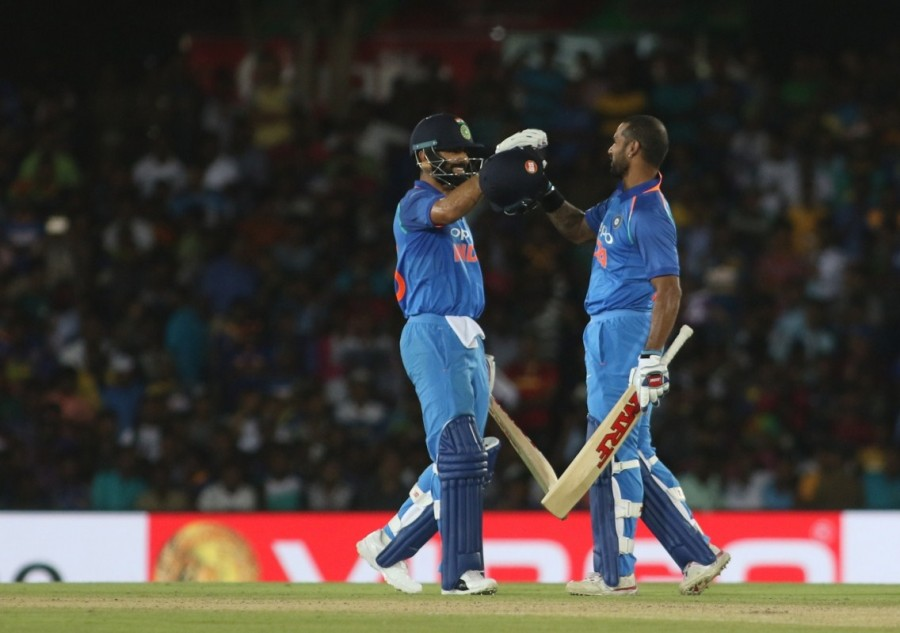 Shikhar Dhawan,Virat Kohli,India rout Sri Lanka by 9 wickets,India rout Sri Lanka,skipper Virat Kohli,India beats Sri Lanka,India vs Sri Lanka