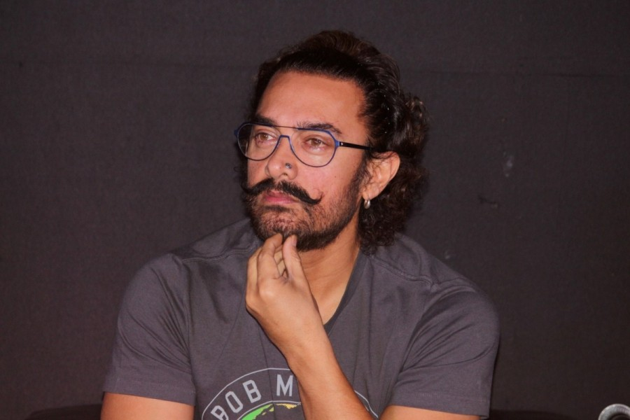Aamir Khan,actor Aamir Khan,Secret Superstar,Secret Superstar songs,Secret Superstar song launch,Secret Superstar song launch pics,Secret Superstar song launch images,Secret Superstar song launch stills,Secret Superstar song launch pictures