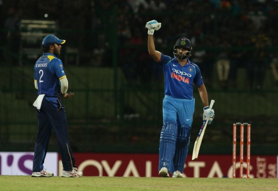 India vs Sri Lanka 2017,India vs Sri Lanka,Rohit Sharma,MS Dhoni,India beat Sri Lanka by 6 wickets,India beat Sri Lanka