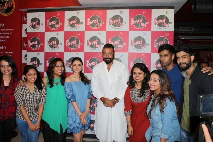 Sanjay Dutt and Aditi Rao Hydari,Sanjay Dutt,Aditi Rao Hydari,Bhoomi,Bhoomi promotion,Bhoomi movie promotion,sanjay dutt bhoomi,bhoomi movie