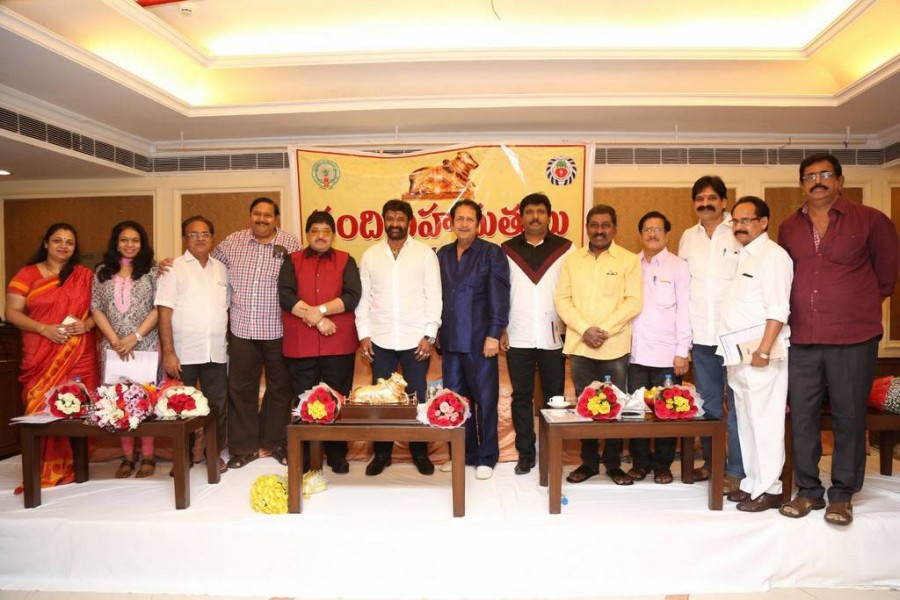 Nandi awards committee press meet,Nandi awards,Nandi awards press meet,Nandamuri Balakrishna,Jeevitha Rajasekhar,Ooha (Sivaranjani),Sana,Prabha Ramesh,Gemini Kiran,MM Srilekha