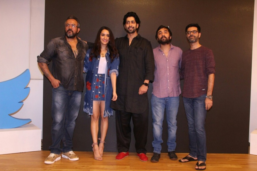 Shraddha Kapoor,Siddhanth Kapoor,Ankur Bhatia,Haseena Parkar,Haseena Parkar song,Tere Bina,Tere Bina song,Tere Bina song launch