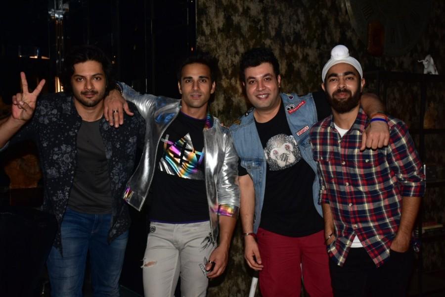 Pulkit Samrat,Varun Sharma,Ali Fazal,Manjot Singh,Fukrey Returns,Fukrey Returns promotional song