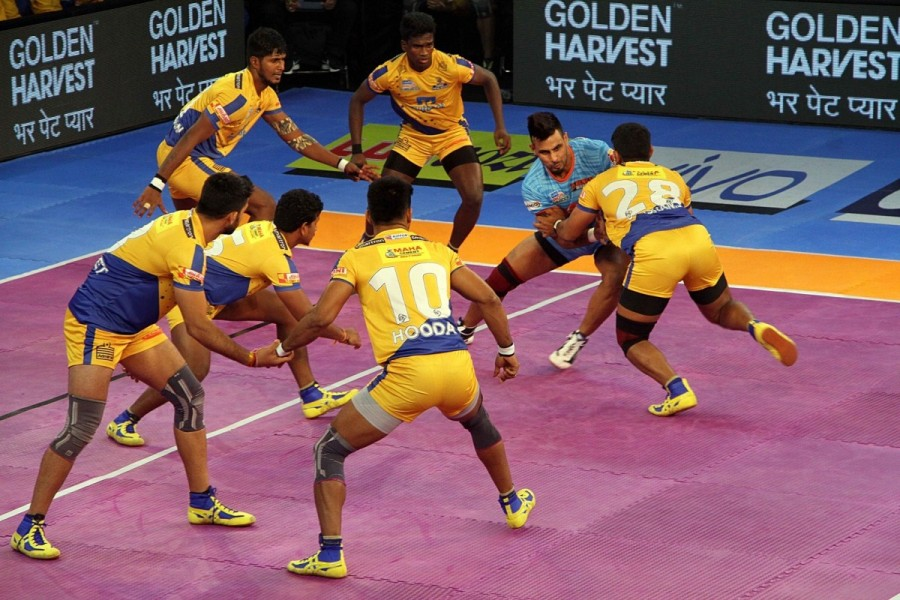 Pro Kabaddi League 2017,Pro Kabaddi League,PKL,PKL 2017,Bengal Warriors beat Tamil Thalaivas,Bengal Warriors,Tamil Thalaivas