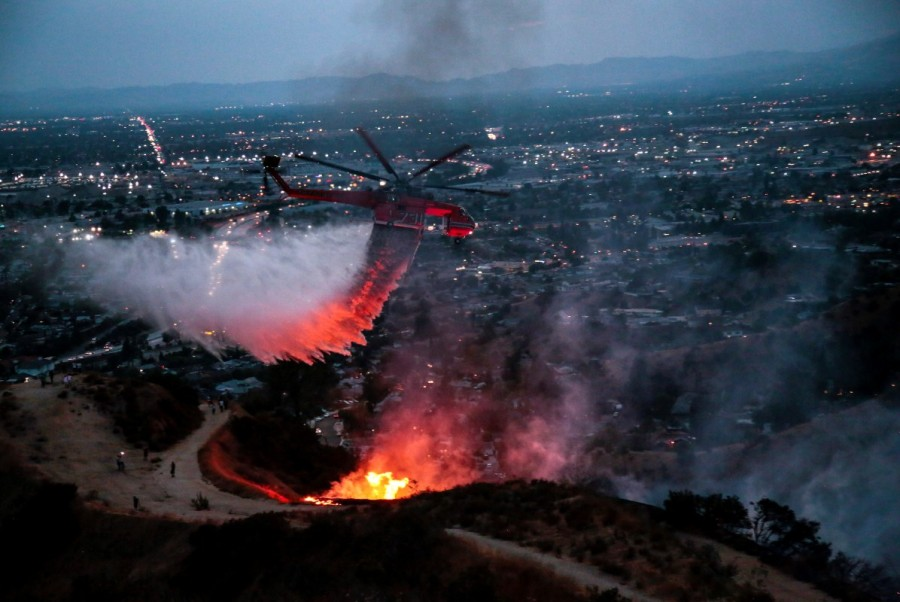 Los Angeles wildfires,Los Angeles wildfire,Largest wildfire in Los Angeles history,Largest wildfire in Los Angeles,California wildfires,La Tuna Fire,Burbank and Glendale