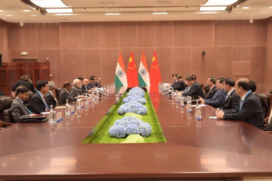 BRICS Summit 2017,BRICS Summit,Narendra Modi and Xi Jinping,Narendra Modi,Xi Jinping,india vs china,India and China,border peace,Doklam