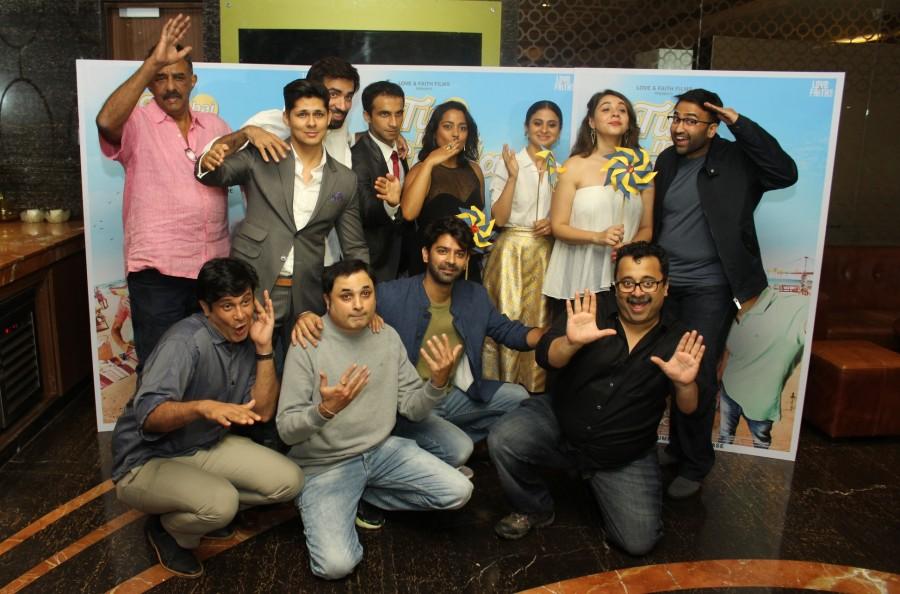 Barun Sobti,Shahana Goswami,Vishal Malhotra,Tu Hai Mera Sunday,Tu Hai Mera Sunday trailer launch,Tu Hai Mera Sunday trailer