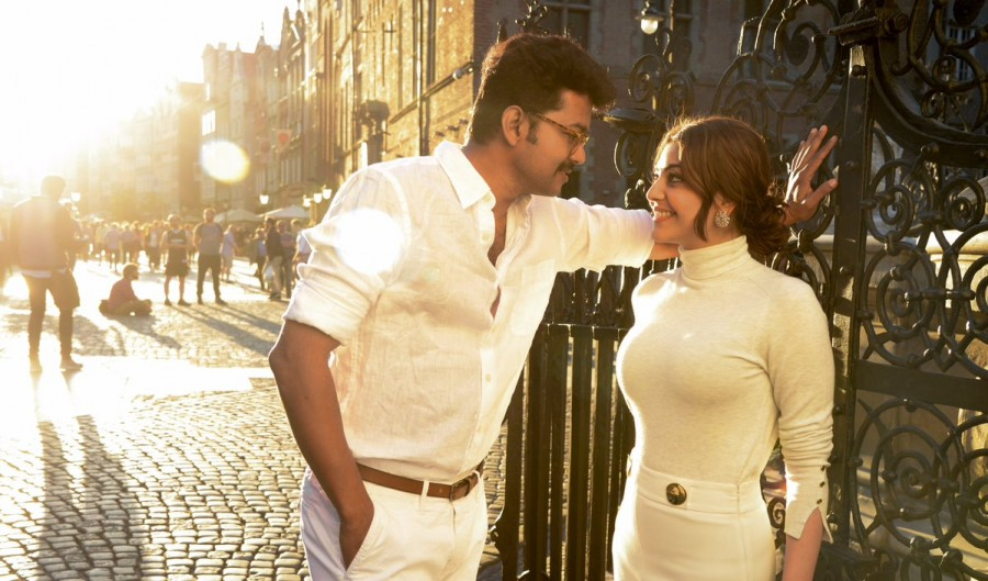 Mersal,Vijay and Kajal Aggarwal,Vijay,Kajal Aggarwal,Maacho song,Maacho video song,Mersal songs