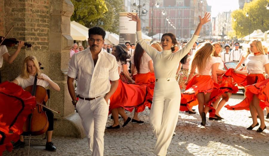 Mersal,Vijay and Kajal Aggarwal,Vijay,Kajal Aggarwal,Maacho song,Maacho video song,Mersal songs