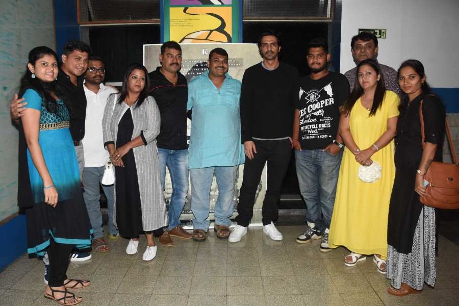 Arjun Rampal hosts a special screening of Daddy for Daddy's
