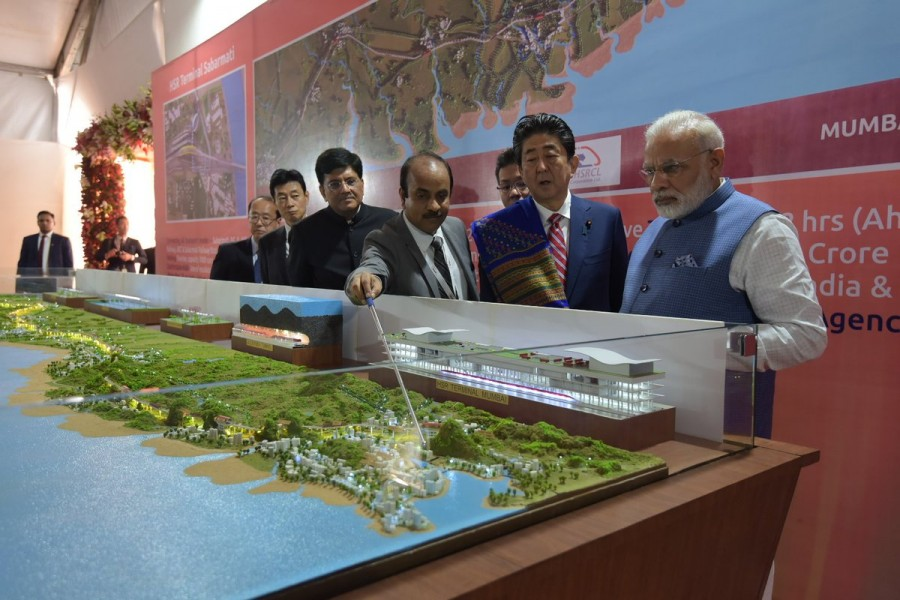 Narendra Modi,Shinzo Abe,Narendra Modi and Shinzo Abe,Shinzo Abe in India,Japanese Prime Minister Shinzo Abe,high-speed rail project