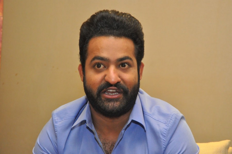 Jr NTR,Junior NTR,Jr NTR promotes Jai Lava Kusa,Jai Lava Kusa,Jai Lava Kusa promotion,Jai Lava Kusa movie promotion