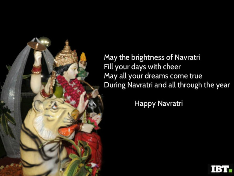 Happy navratri 2017 best quotes messages wishes picture for empower you and your family with her nine swaroopa of name fame health wealth happiness humanity education bhakti and shakti happy navratri 2017 m4hsunfo