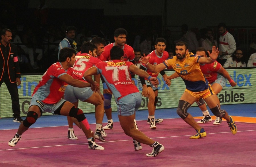 Pro Kabaddi League 2017,Pro Kabaddi League,aipur Pink Panthers beat Tamil Thalaivas,aipur Pink Panthers,Tamil Thalaivas,Inter Zone Challenge Week,PKL,PKL 2017