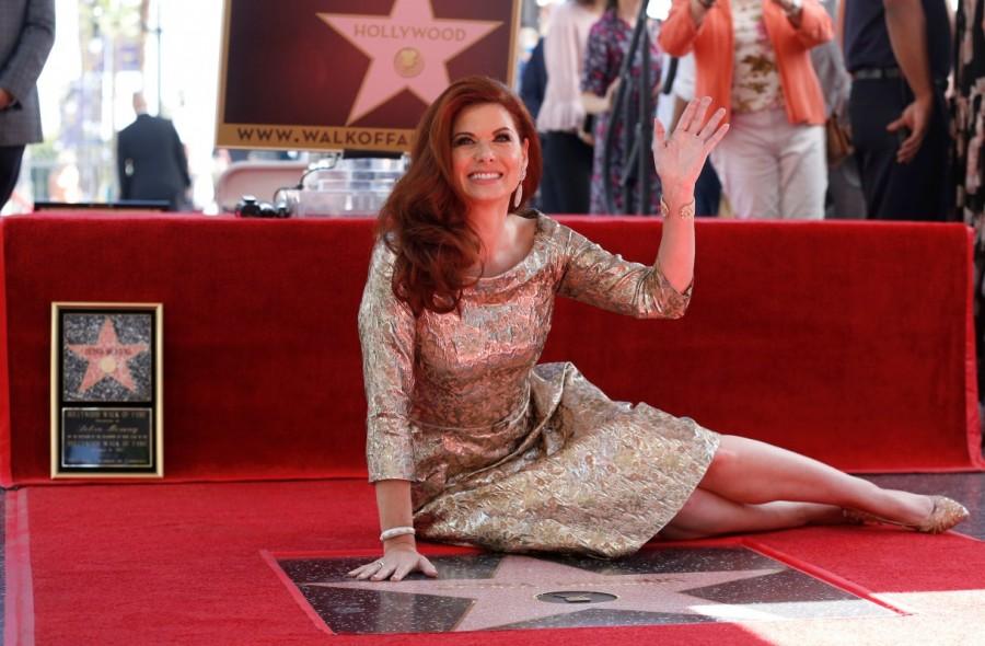Debra Messing,Debra Lynn Messing,actress Debra Messing,Debra Messing gets Hollywood Walk of Fame,Hollywood Walk of Fame