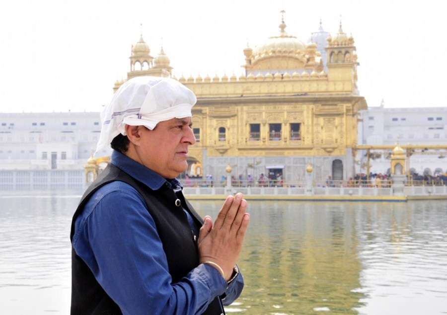 Gajendra Chauhan,Chairman of the Film,Chairman of the Film Gajendra Chauhan,Gajendra Chauhan visits Golden Temple