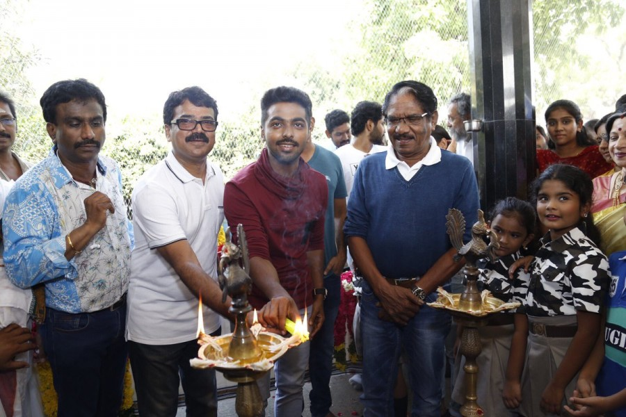 GV Prakash,Shalini Pandey,Devi Sri Prasad,G.V. Prakash Kumar,100 Percent Kadhal,100 Percent Kadhal movie launch,100 Percent Kadhal movie pooja,100 Percent Kadhal movie launch pics,100 Percent Kadhal movie launch images,100 Percent Kadhal movie launch stil