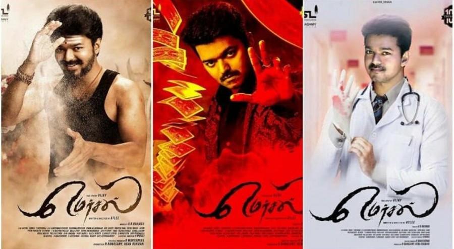 Mersal,tamil movie Mersal,Mersal review,Mersal movie review,Vijay,Samantha,Kajal Aggarwal,Nithya Menen,Atlee,Ilayathalapathy Vijay
