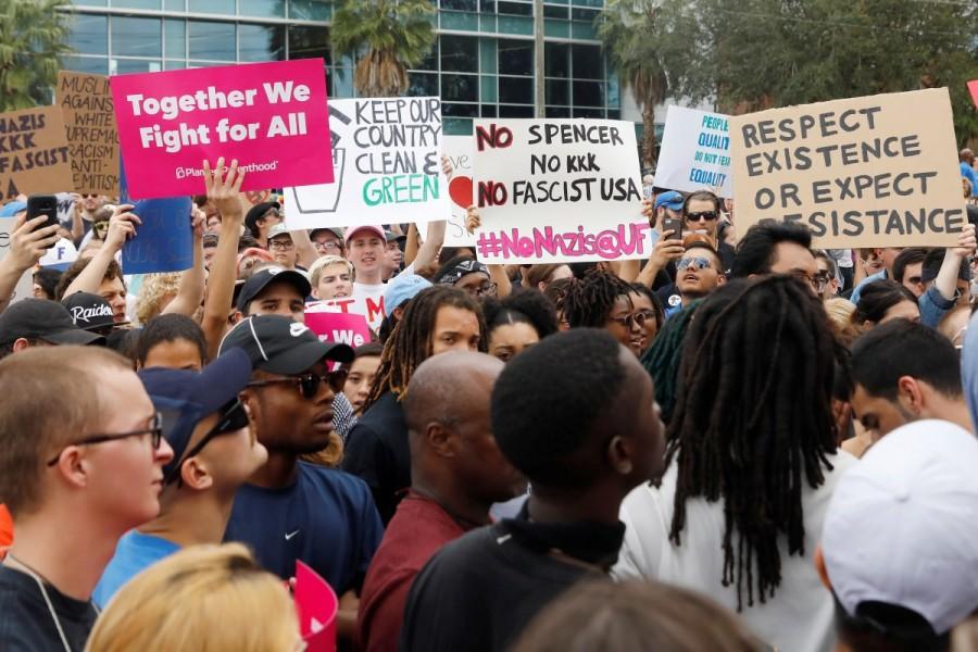 Richard Spencer,Florida campus,University of Florida,Go home Nazis