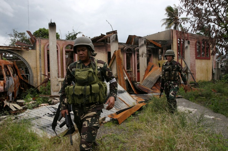 Philippine city,pro-Islamic State,pro-Islamic State rebels