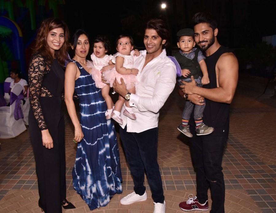 Karanvir Bohra and Teejay Sidhu,Karanvir Bohra,Teejay Sidhu,Karanvir Bohra and Teejay Sidhu's little cuties,Karanvir Bohra and Teejay Sidhu daughter