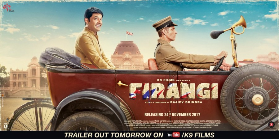 Kapil Sharma,Firangi first look poster,Firangi first look,Firangi poster,Firangi movie poster,Firangi,bollywood movie Firangi