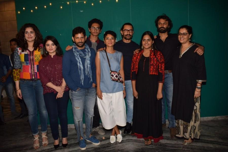 Zaira Wasim and Tirth Sharma,Zaira Wasim,Tirth Sharma,Aamir Khan,Secret Superstar