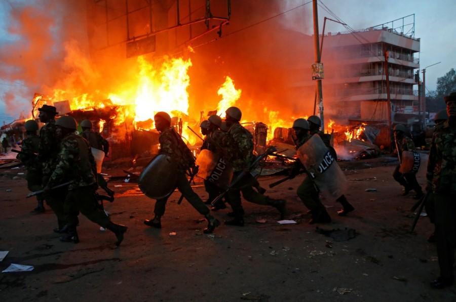 Kenya's election re-run,Clashes at Kenya,Kenya election rerun,Tensions high in Kenya