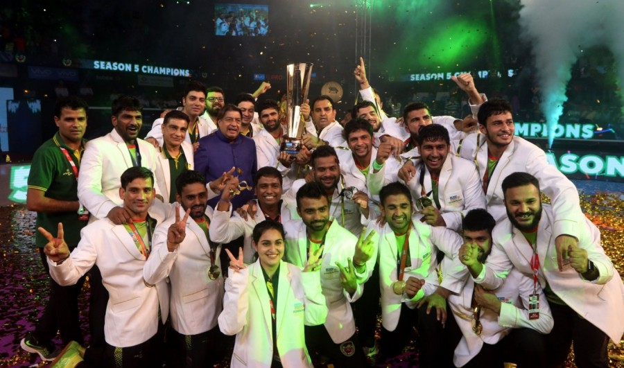Patna Pirates beat Gujarat Fortunegiants,Patna Pirates,Gujarat Fortunegiants,Patna Pirates wins Pro Kabaddi League 5 title,Pro Kabaddi League 5 title,Pro Kabaddi League 5
