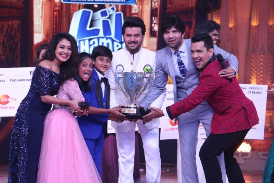 Anjali Gaikwad,Shreyan Bhattacharya,Anjali Gaikwad and Shreyan Bhattacharya,Sa Re Ga Ma Pa Li'l Champs winners,Sa Re Ga Ma Pa Li'l Champs
