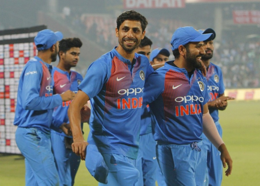 India thrash New Zealand,India beats New Zealand,Ashish Nehra,ashish nehra farewell,ashish nehra retirement match,Ashish Nehra retirement
