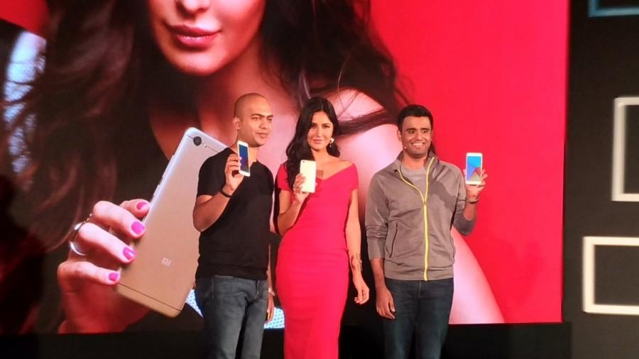 Katrina Kaif,actress Katrina Kaif,Katrina Kaif launches Xiaomi Redmi Y,Xiaomi Redmi Y,Xiaomi Redmi Y1,Xiaomi Redmi Y1 Lite,Xiaomi Redmi,Xiaomi Redmi smartphones,Xiaomi Redmi mobiles