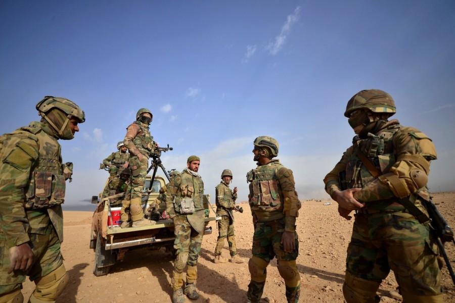 Iraqi forces,Islamic State,Iraqi forces entered al-Qaim,al-Qaim,Islamic State militants