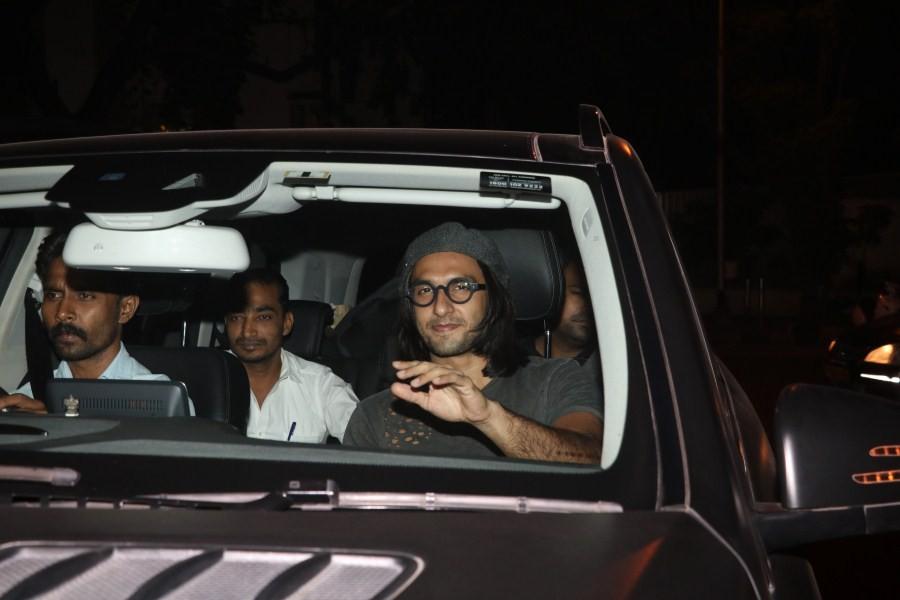 Ranveer Singh,Ranveer singh-deepika padukone,Ranveer Singh and Deepika Padukone,Ranveer Singh wraps up Padmavati,Padmavati,Alauddin Khilji