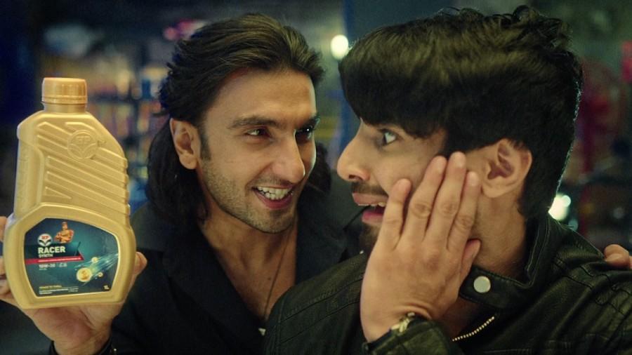 Ranveer Singh,actor Ranveer Singh,HP Lubricants' campaign,Ranveer Singh plays offbeat mechanic,Power to Thrill,Ranveer Singh plays an offbeat mechanic