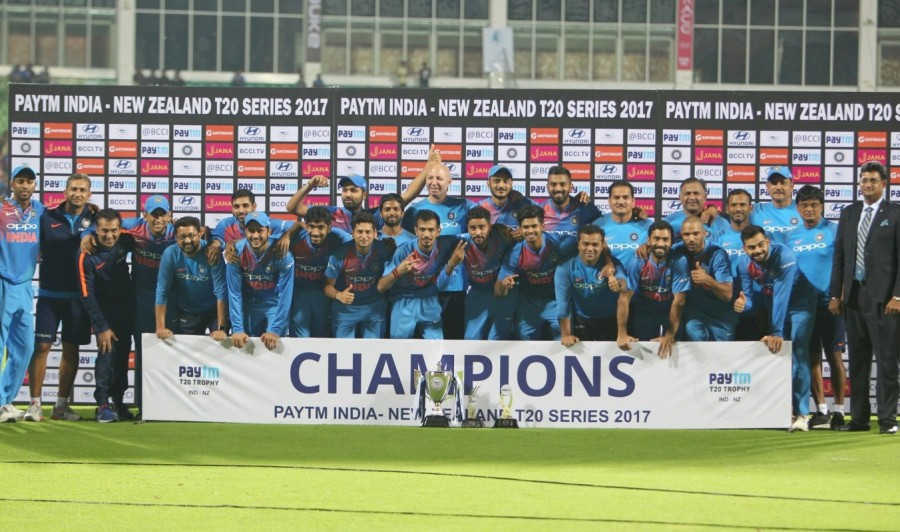 India beat New Zealand,India beat New Zealand by 6 runs,India vs New Zealand,T20 series 2-1,Jasprit Bumrah,Bhuvneshwar Kumar,Virat Kohli