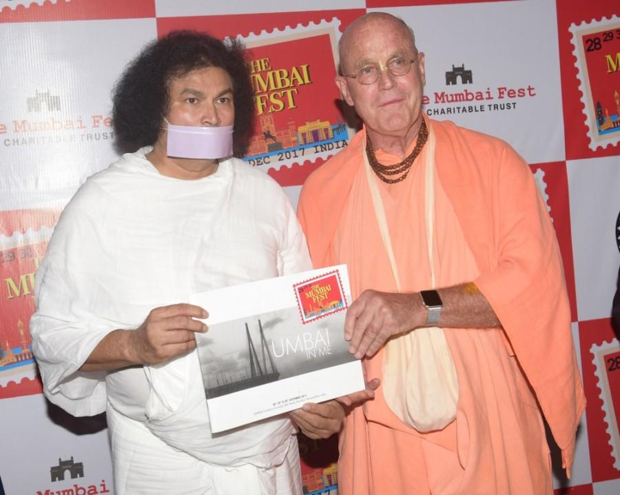Shilpa Shetty,Ankit Tiwari,Indradyumna Swami,Shri Lokesh Muni,The Mumbai Fest,The Mumbai Fest - Charitable Trust