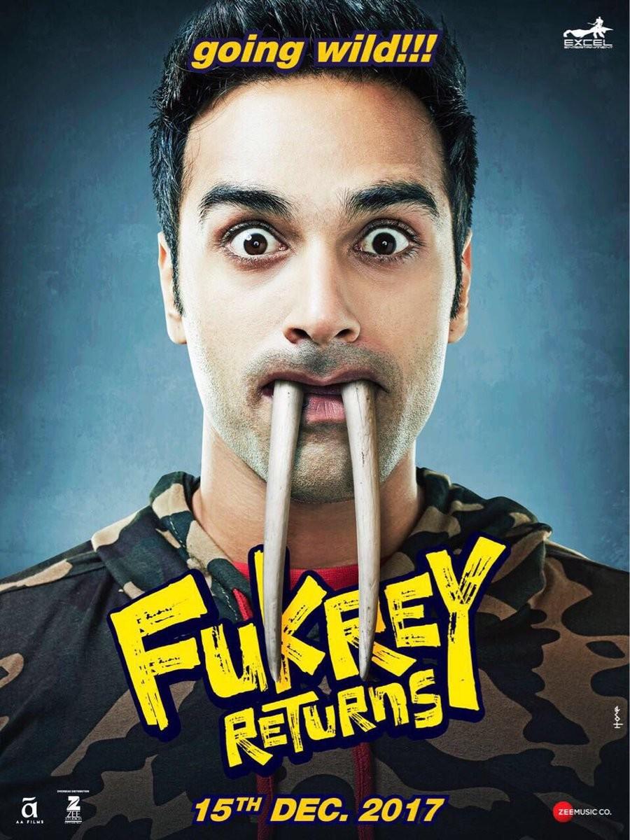 Fukrey returns,Pulkit Samrat,Varun Sharma,Ali Fazal,Manjot Singh,Richa Chadda