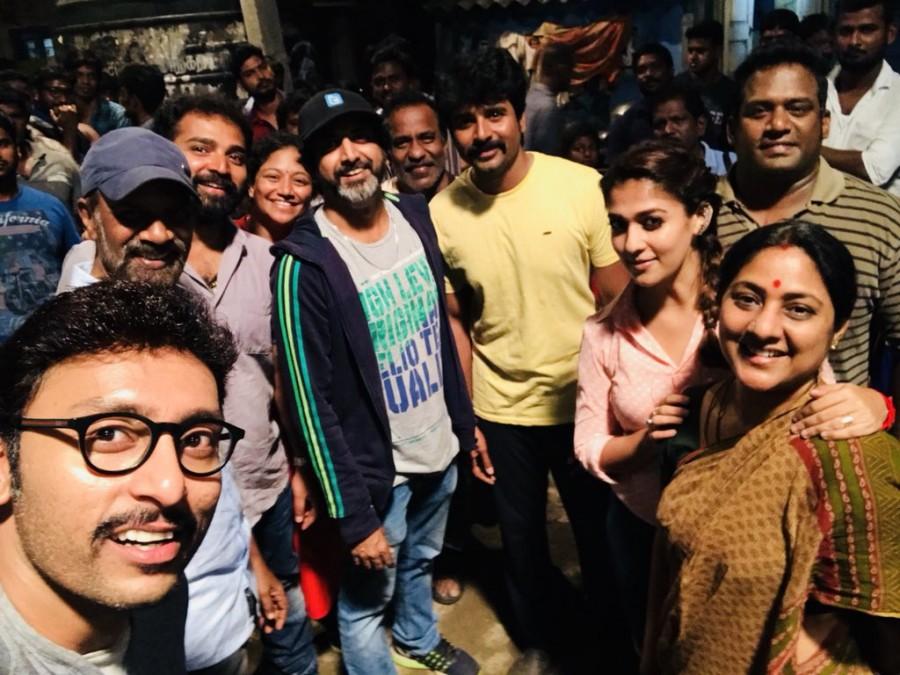 Sivakarthikeyan,Nayanthara,Velaikkaran,Velaikkaran wrap up,Velaikkaran movie wrap up,Velaikkaran on the sets,RJ Balaji,Sivakarthikeyan and Nayanthara