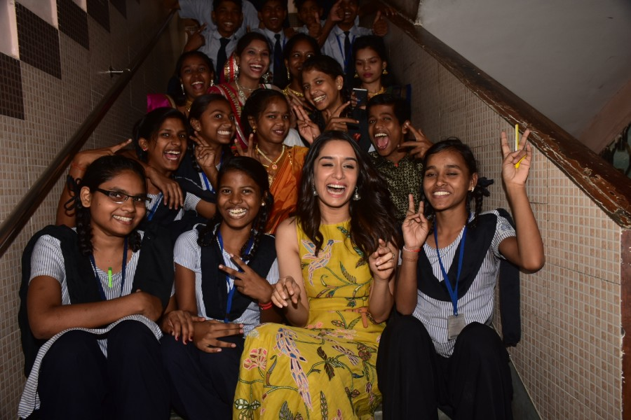 Shraddha Kapoor,Shraddha Kapoor celebrates Children's Day,Children's Day,Children's Day celebrations,actress Shraddha Kapoor