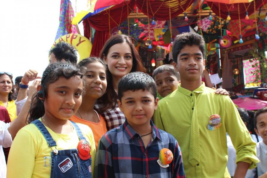 Dia Mirza and Jackky Bhagnani,Dia Mirza,Jackky Bhagnani,India's First Children News Service