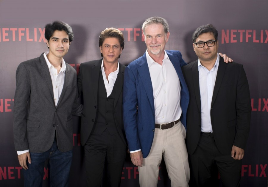 Netflix,Netflix and Shah Rukh Khan,Shah Rukh Khan's Red Chillies,Netflix and Red Chillies,Bard of Blood