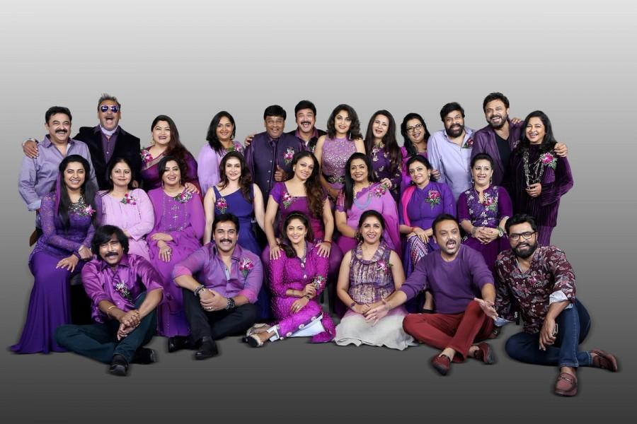 Celebs Reunion,South Indian Stars of 80's,Chiranjeevi,Venkatesh,8th Annual Meet of South Indian Stars,Suhasini Maniratnam?,?Kushboo?,?Raadhika Sarathkumar?,?Bhagyaraj?,?Chiranjeevi?,?Daggubati Venkatesh?,?Poornima Jayaram??