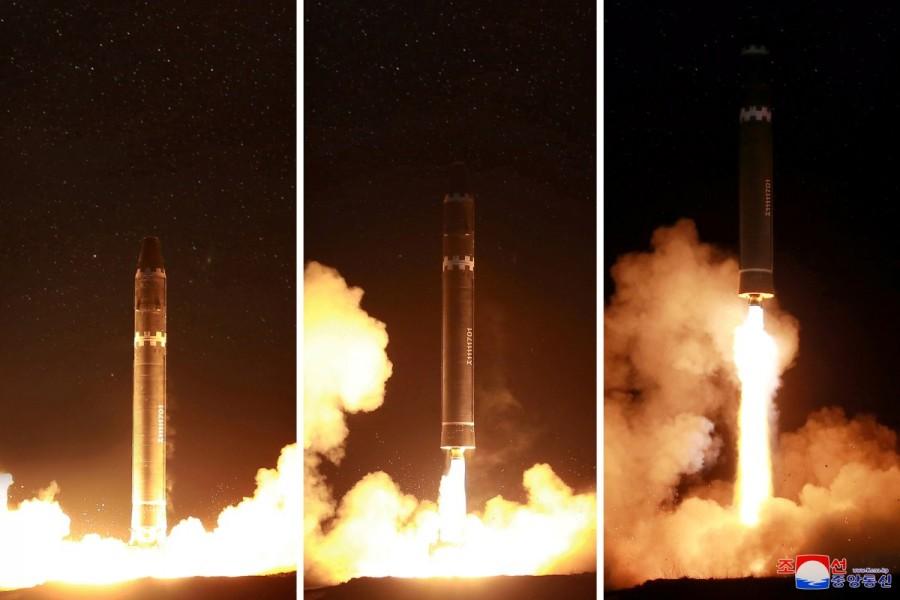 North Korea,North Korea missile test,intercontinental ballistic missile,ballistic missile