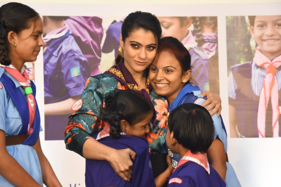 Kajol,actress Kajol,Help A Child Reach 5,Help A Child Reach 5 campaign