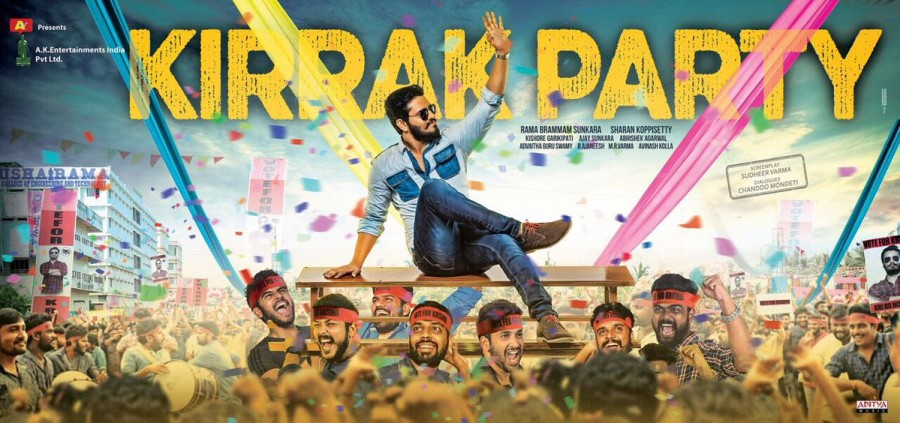 Nikhil Siddhartha,actor Nikhil Siddhartha,Kirrak Party first look poster,Kirrak Party poster,Kirrak Party first look,Kirrak Party movie poster,telugu movie Kirrak Party,Kirrak Party pics,Kirrak Party images,Kirrak Party stills,Kirrak Party pictures,Kirrak