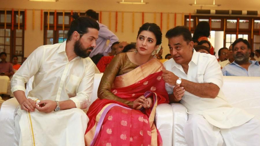 Kamal Hassan,Shruti Haasan,Michael Corsale,Atharva,Aadhav and Vinodhinie wedding,Aadhav Kannadasan,Vinodhinie