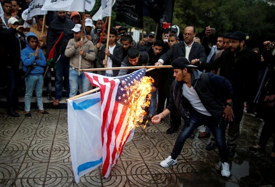 Donald Trump,President Donald Trump,Jerusalem decision,Jerusalem,jerusalem violence