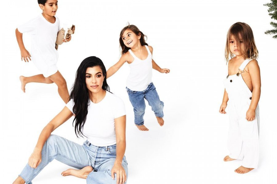 Christmas countdown,Kim Kardashian,Kim Kardashian with Saint and North,Saint and North
