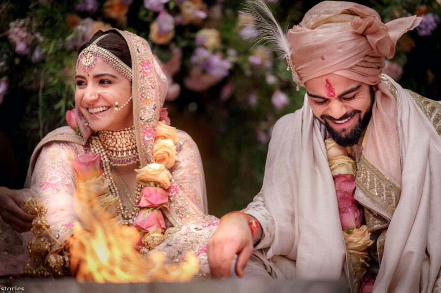 Virat Kohli,Anushka Sharma,Virat Kohli and Anushka Sharma,Virat Kohli and Anushka Sharma marriage,Virat Kohli and Anushka Sharma wedding images,Virat Kohli and Anushka Sharma wedding stills